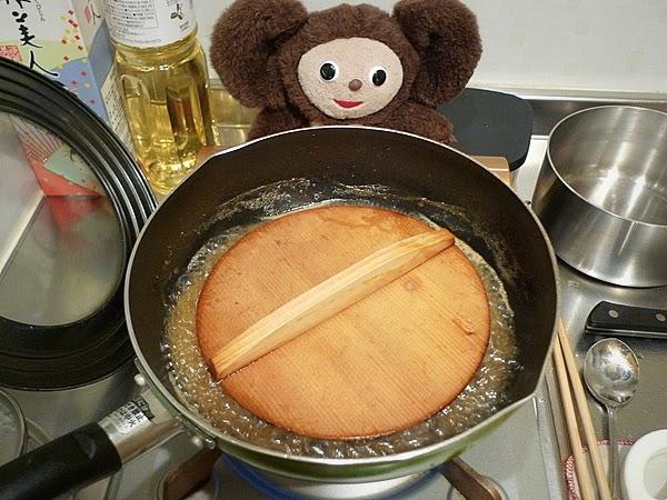 イワシとナスの梅煮そばの作り方(6)