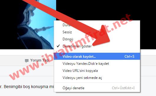Facebook Video İndir 1