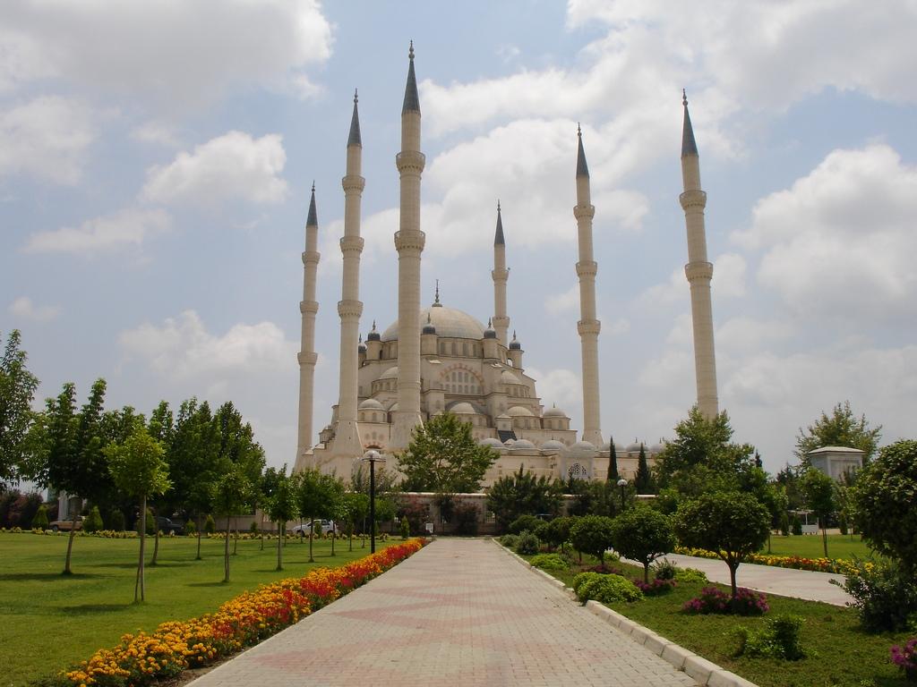 Adana Turkey  city images : sabanci mosque in adana turkey