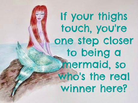 mermaid saying
