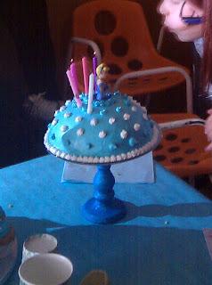 Tarta de cumpleaños de Cenicienta