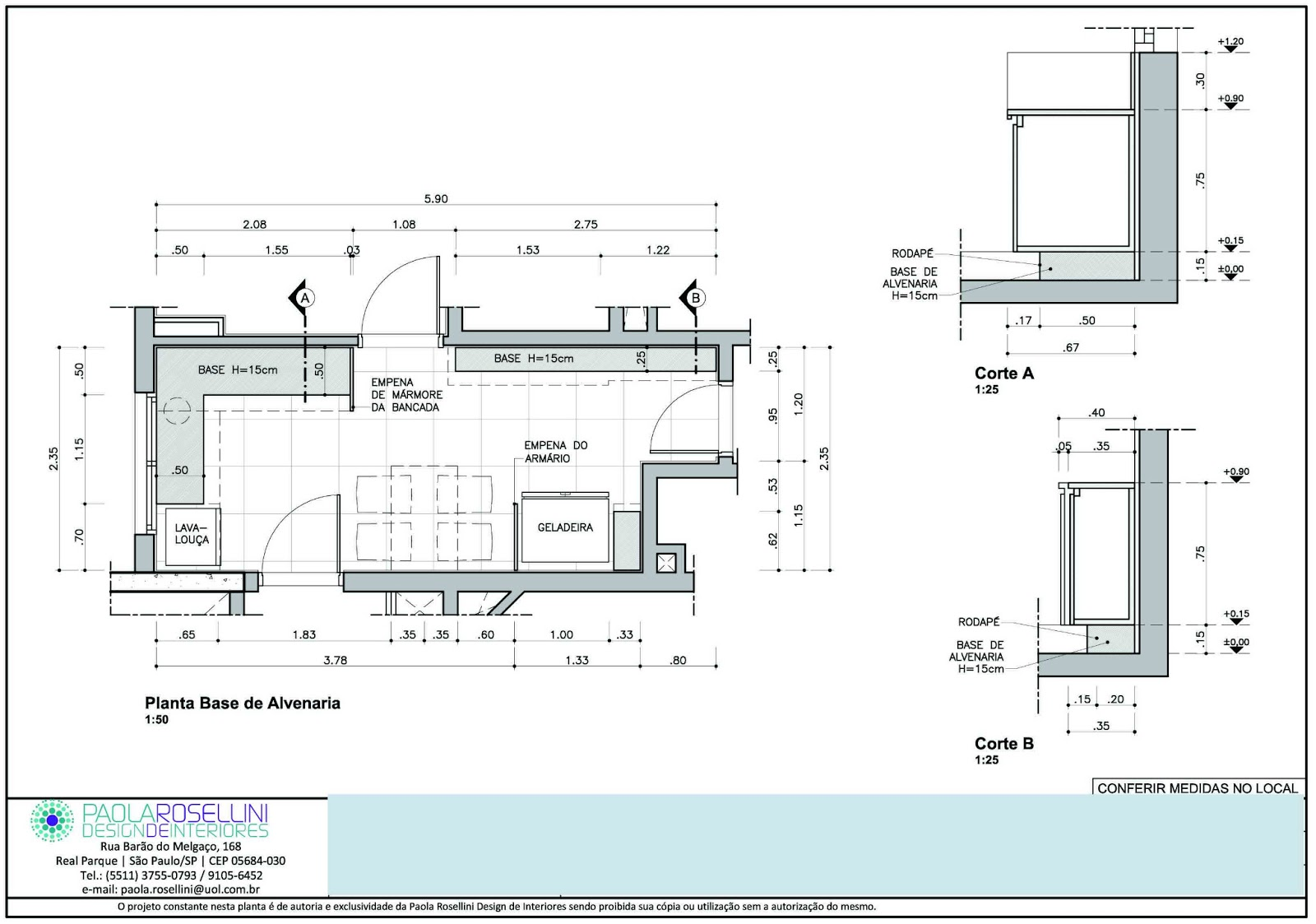 COBERTURA = dimensionamento do elemento que compõem a cobertura seja  #2000CC 1600x1123 Banheiro Acessibilidade Bloco Cad