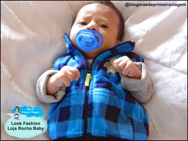 Look Fashion da Loja Rocha Baby