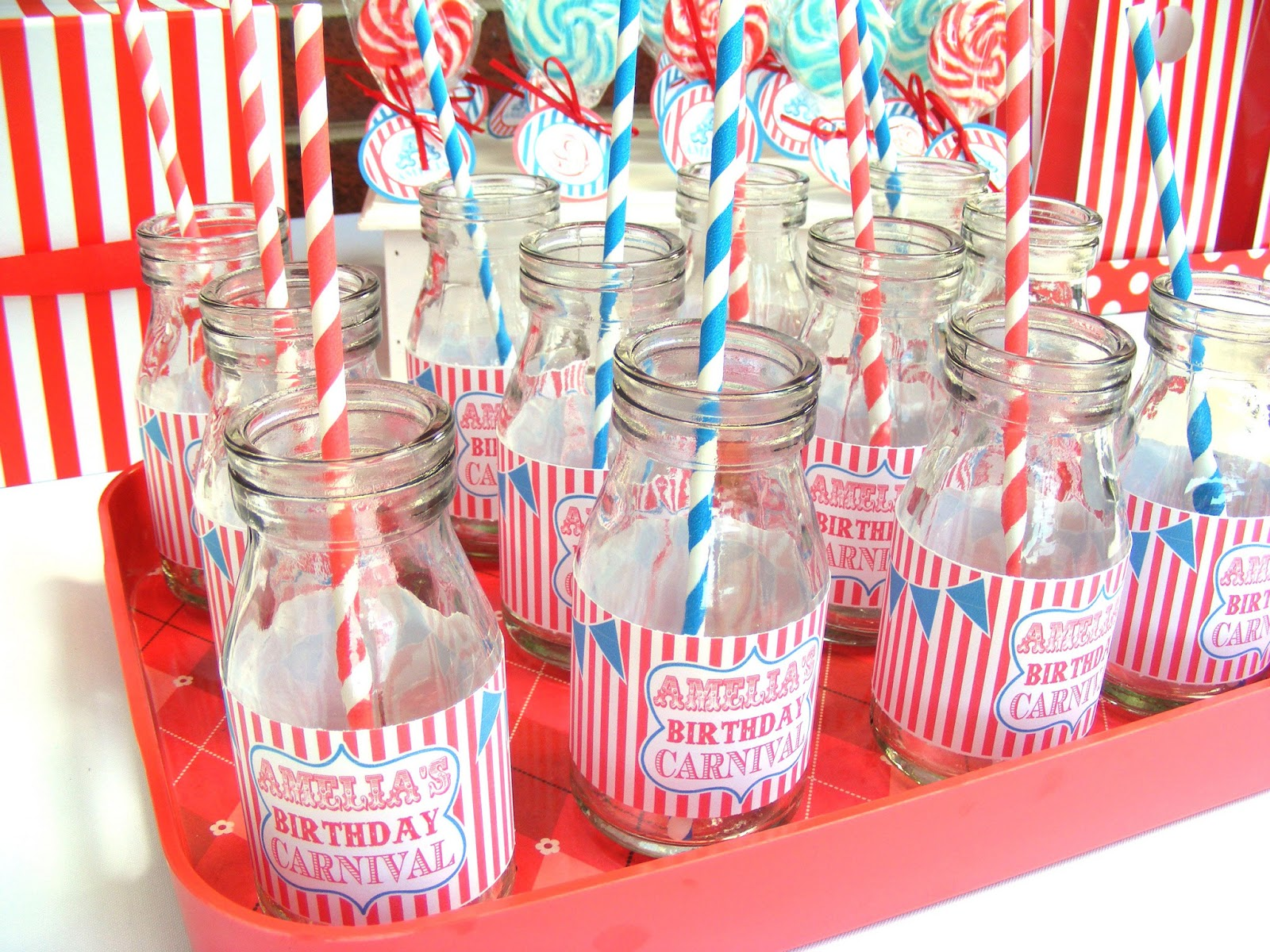 how to set up a carnival party