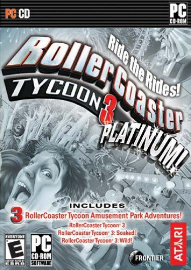 Roller Coaster Tycoon 3 Platinum (All Expansions) [PC] [DF]