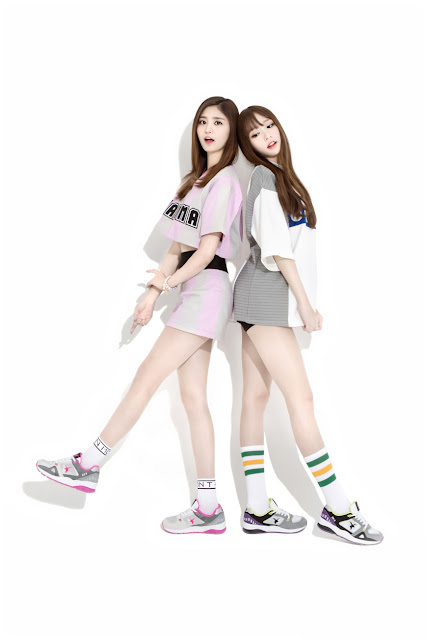 EXID's Akiii Sneakers are Now on Sale!