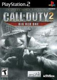 Super Compactado Call of Duty 2 Big Red One Collectors Edition PS2