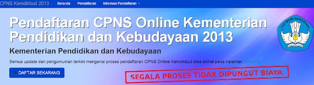Hasil Tes TKD CPNS Kemendikbud 2013