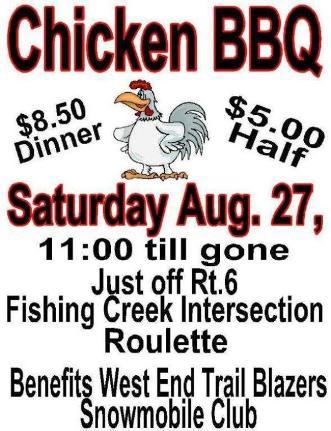 8-27 Chicken BBQ, Roulette