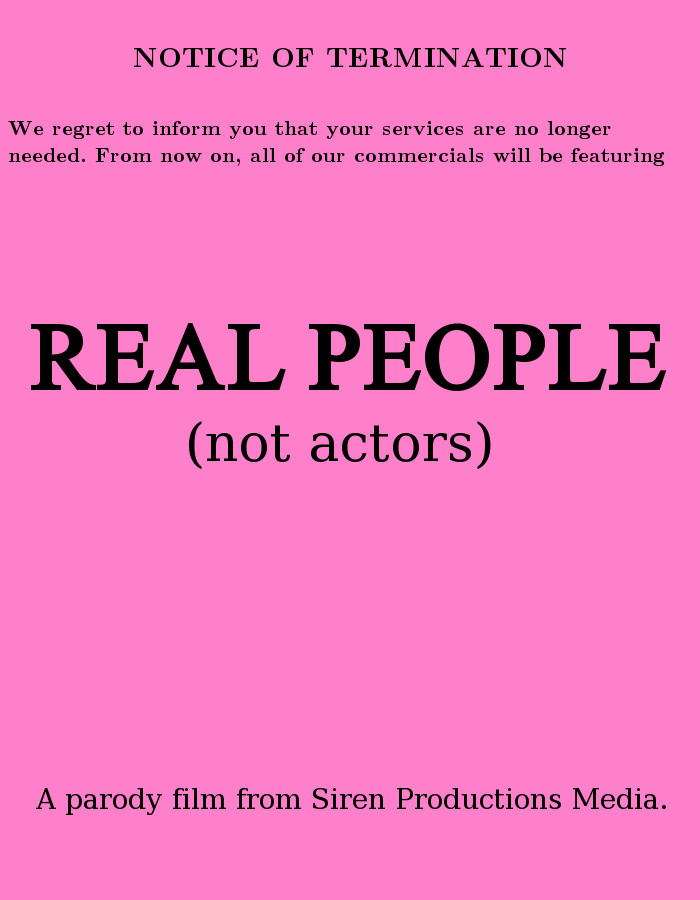 Now Showing - Real People