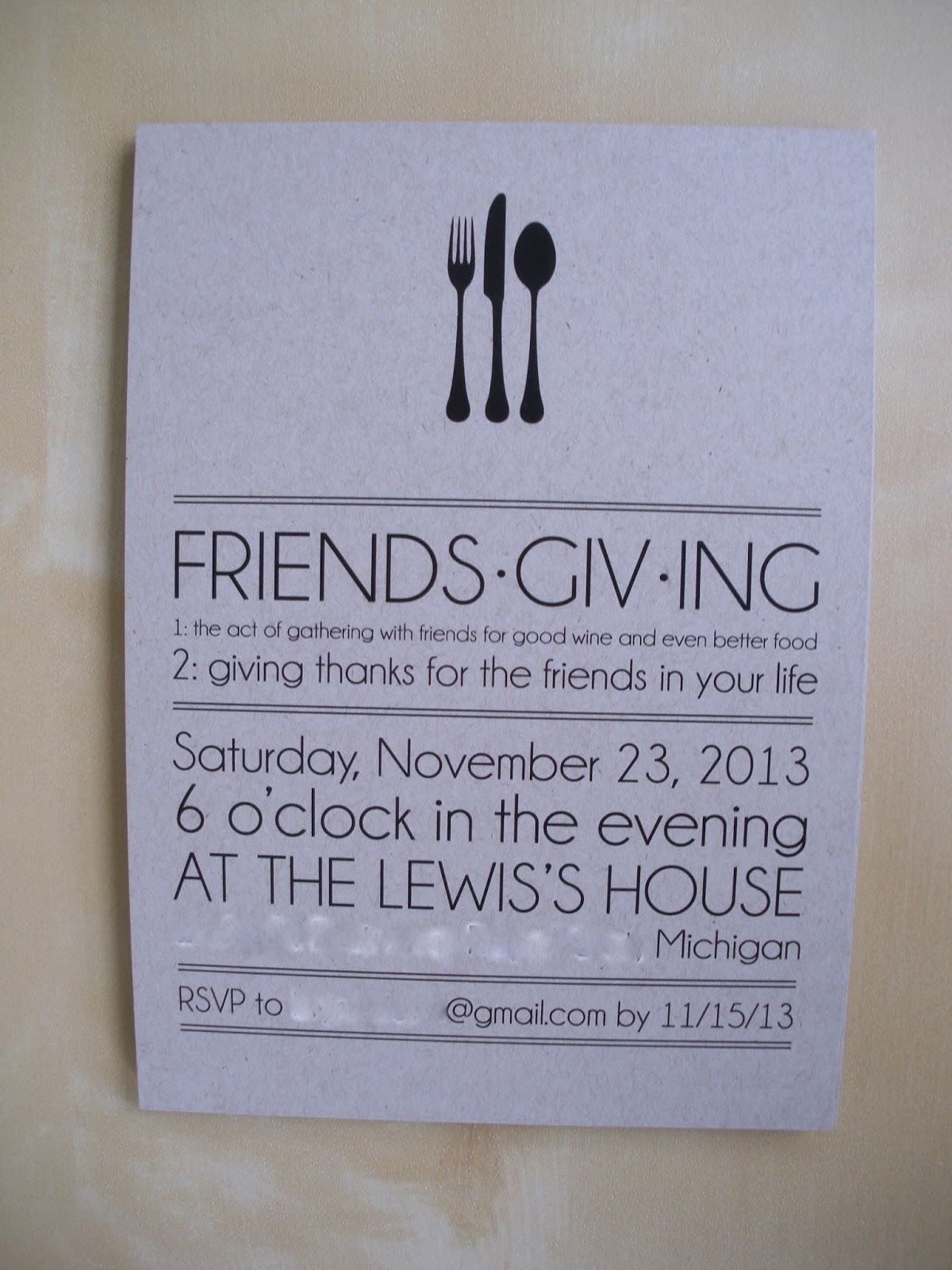 vivian elle invitations brynne and shawn s friendsgiving invitations
