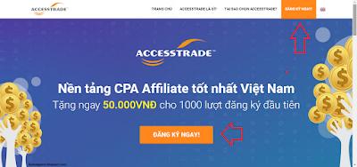 Đăng ký access trade