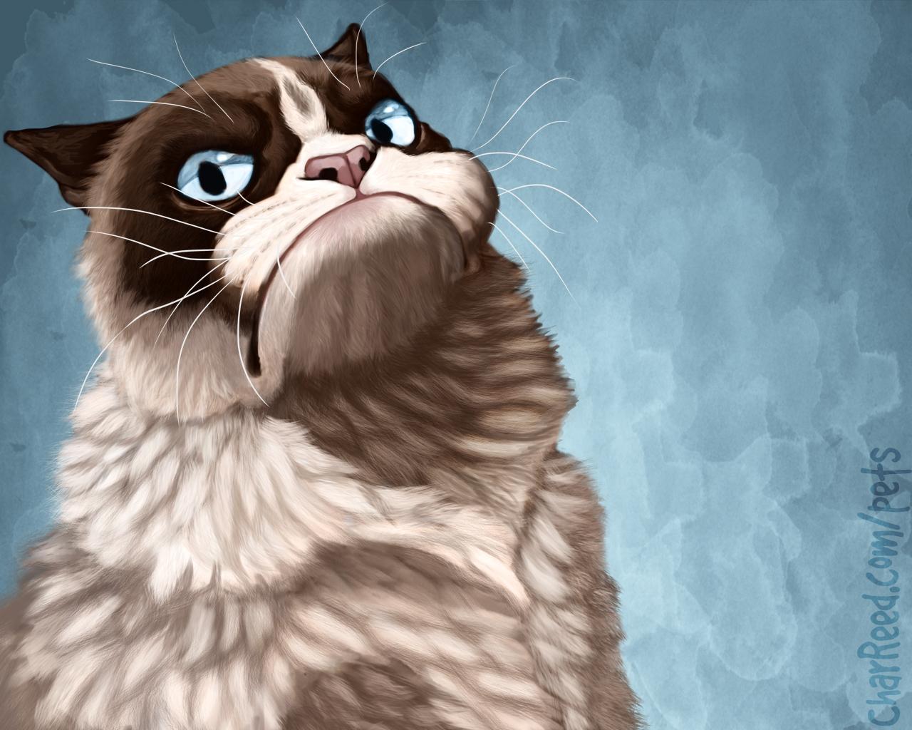 Grumpy Cat Wallpaper