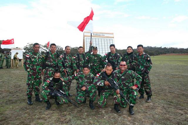 TNI AD dan Senapan PT DI Kembali Berjaya dalam Ajang Perlombaan Menembak AASAM