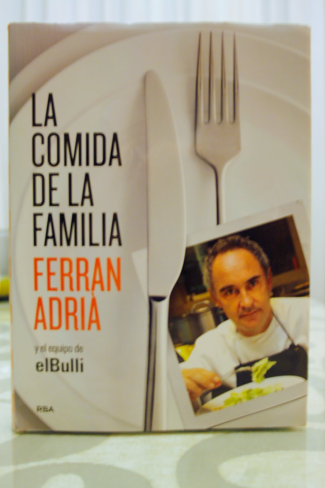 La cocina de maricarmen la cocina de la familia ferran for Ferran adria comida
