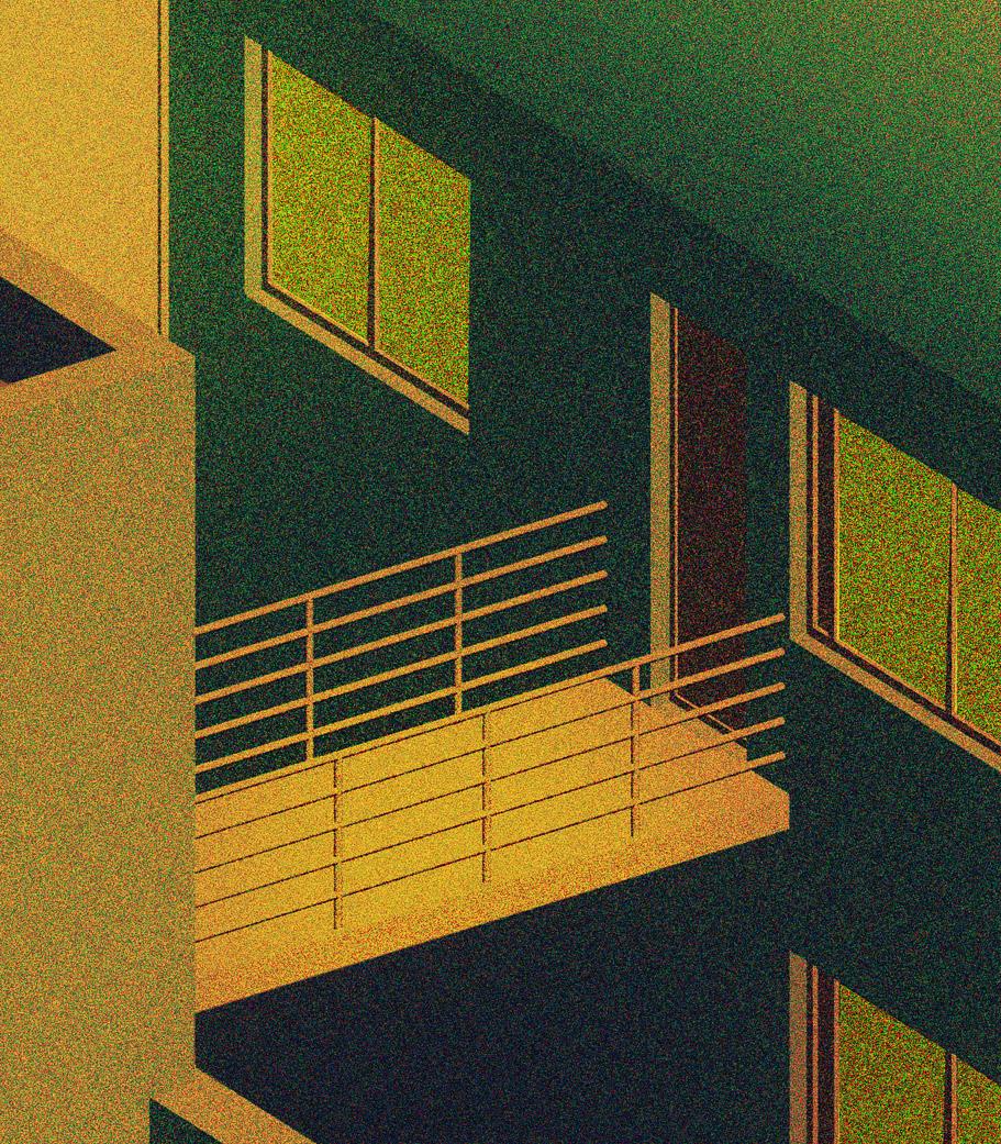 ©Lili Des Bellons - Sleepy Town. Ilustración | Illustration
