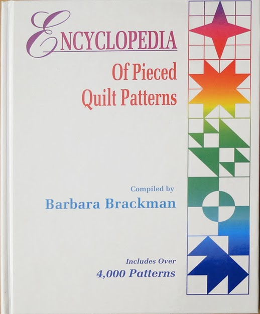 E-Book version of Encyclopedia of Pieced Quilt Patterns.