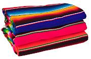 Kitsch Kitchen mexican blankets 150x220 cms £29.95