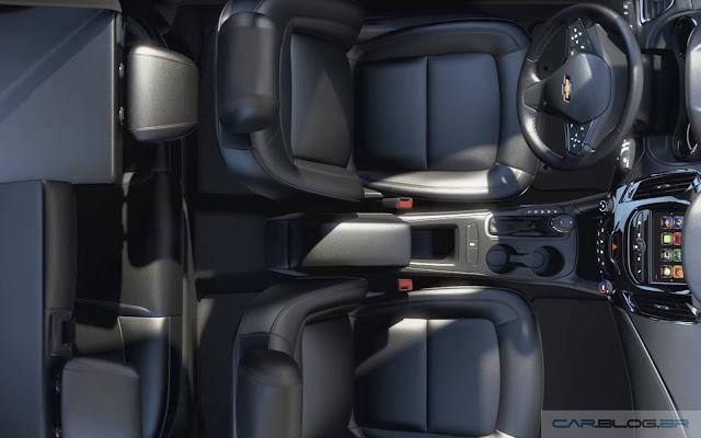 Chevrolet Cruze Hatch 2017 - interior - espaço interno