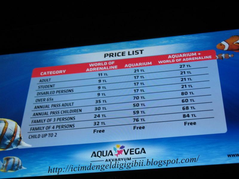 Aqua Vega : Aqua Vega nerede derseniz?
