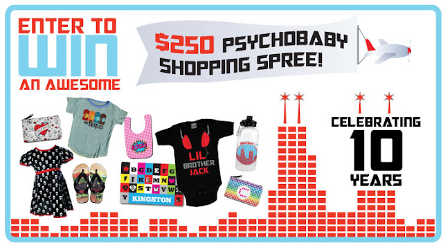 Win a $250 Psychobaby Shopping Spree!