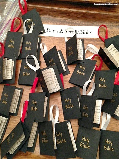 Housewife eclectic a christ centered christmas craft for Bible school craft supplies