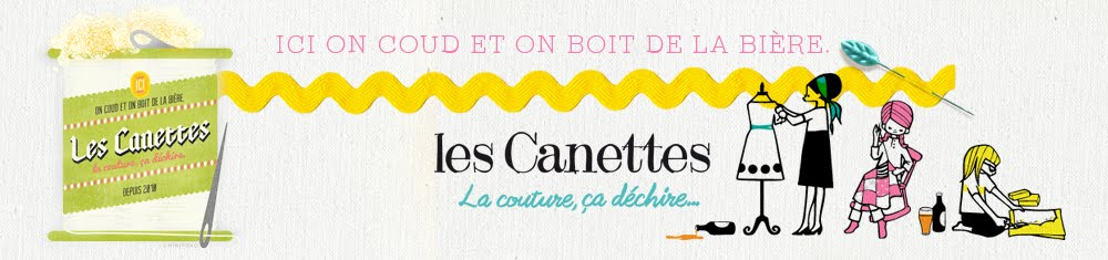 Les canettes. La couture, ça déchire.