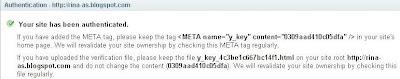 Cara Daftar dan Submit Sitemap di Yahoo Site Explorer
