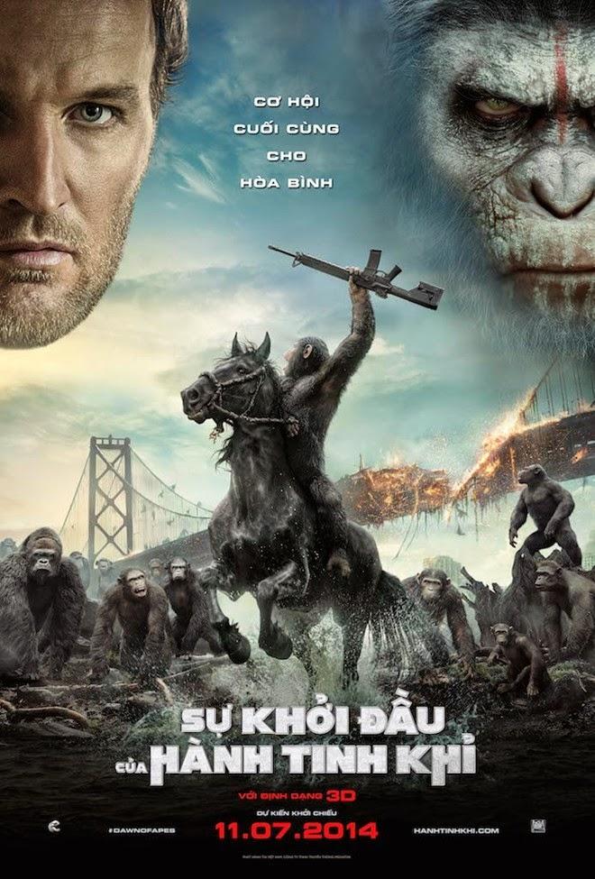 xem phim Sự Khởi Đầu Của Hành Tinh Khỉ - Dawn Of The Planet Of The Apes 2014 full hd vietsub online poster