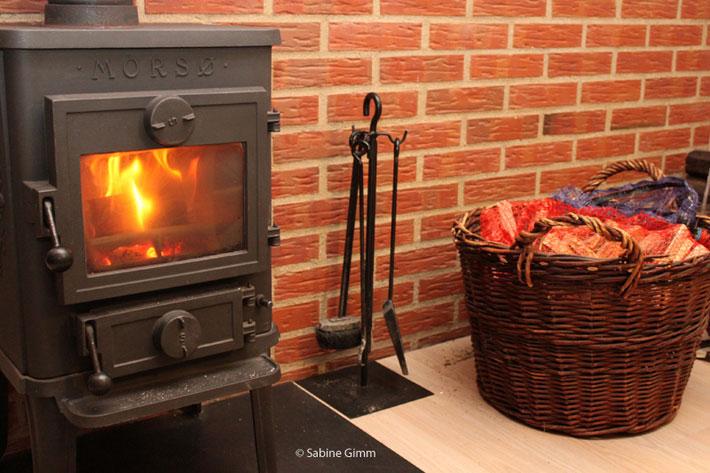 Urlaub in Dänemark - Ferienhaus mit Ofen