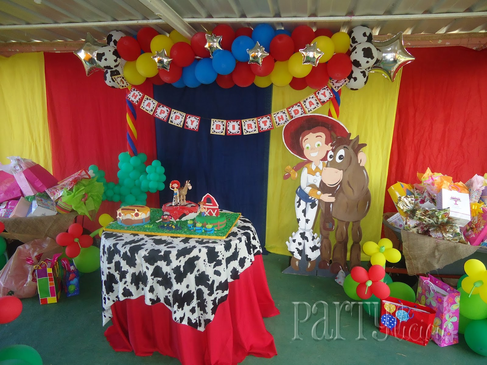 Toy Story Birthday Party : Partylicious events pr jessie toy story birthday