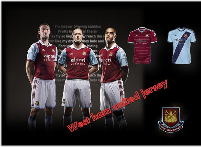 seragam-kostum-jersey West Ham United Fc
