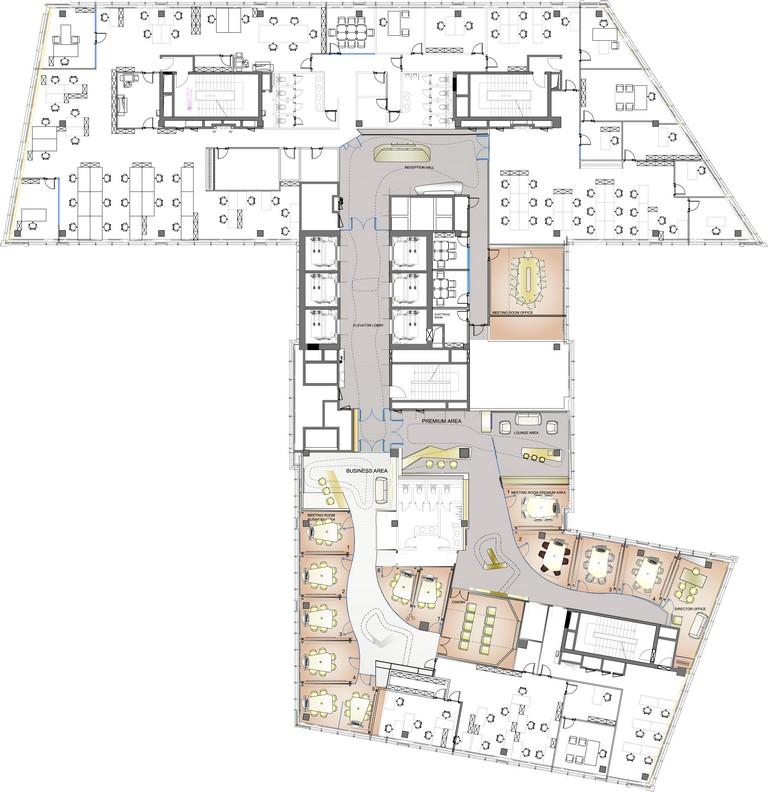 floor plan 01 drawing courtesy of iosa ghini associates capital group interiors capital group office interior