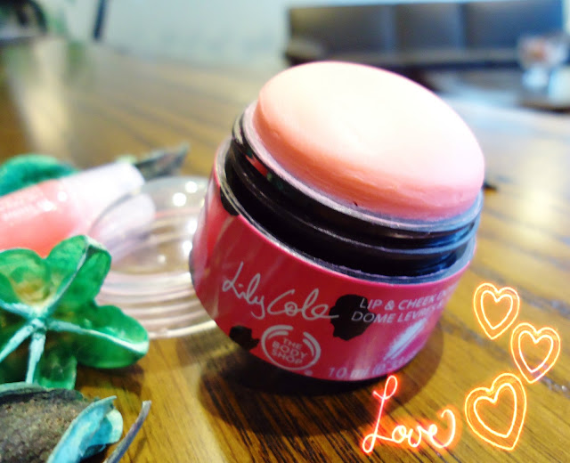 The Body Shop Lily Cole Lip & Cheek Dome in Pinch Me Pink
