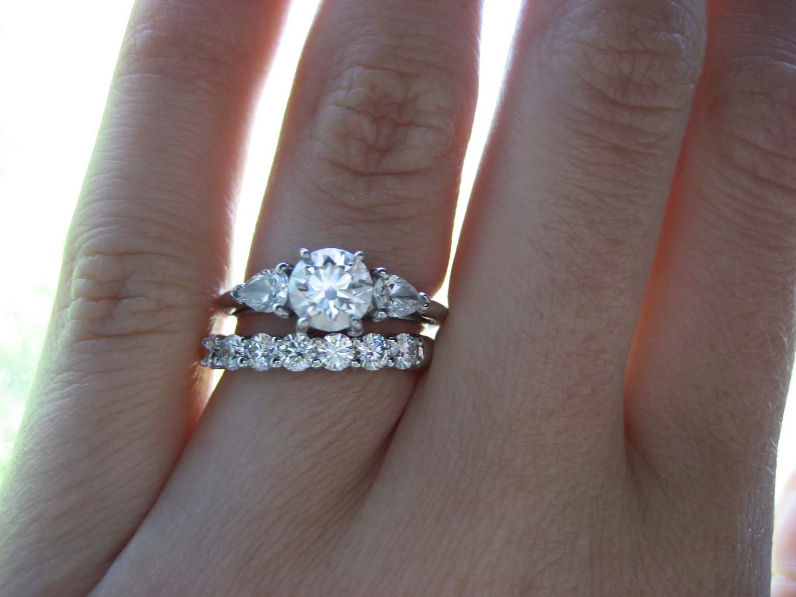 missbellauk blogspot engagement wedding rings Consider Buying Your Ring and Your Bands Together