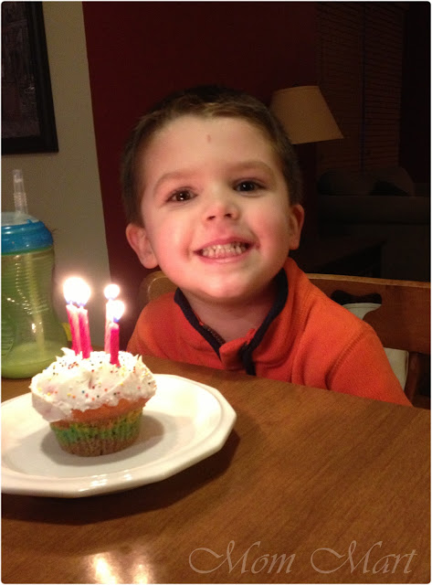 Happy 4th Birthday William!