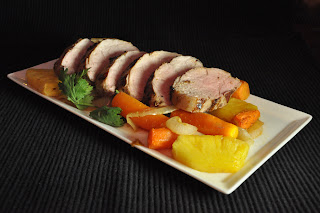 Recipe: Roasted pork and carrots