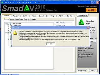Cara Menghilangkan Blacklist Smadav 8.4