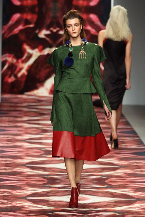 Osman In London Fashion Week   Fall Winter 2012 2013