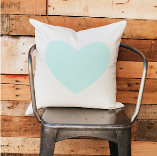 http://www.goodsbygrinn.com/products/mint-heart-pillow