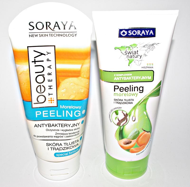 Mój ulubiony peeling - Soraya peeling Morelowy Antybakteryjny (stara i nowa wersja)