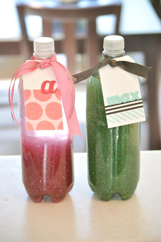 Easy timeout glitter bottles for kids tutorial little for Glitter crafts for kids