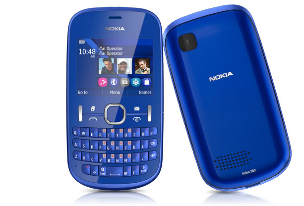 Nokia Asha 200 features and Specifications: