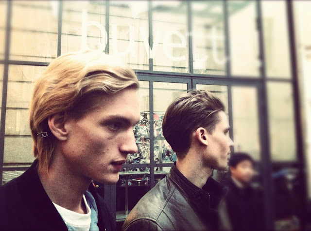 PAUL BOCHE JOHN LAWRENCE SULLIVAN FALL WINTER 2012 2013 BACKSTAGE PARIS MENS FASHION WEEK
