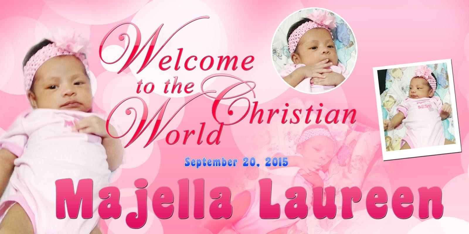 Majellas Christening Template Psd Free Psd Design