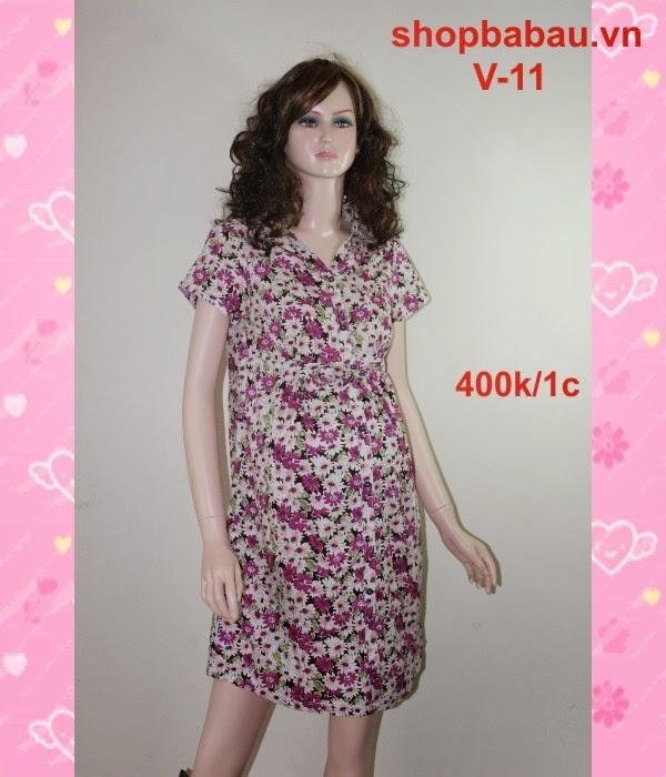 Váy bầu công sở V-11
