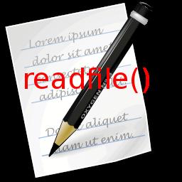 Membaca File Teks Dengan Fungsi Readfile Pada PHP