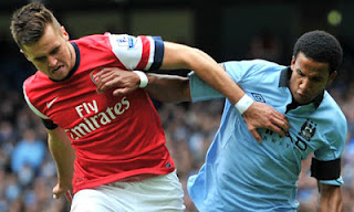 Prediksi  Pertandingan  Manchester City vs Arsenal 13 Januari 2013