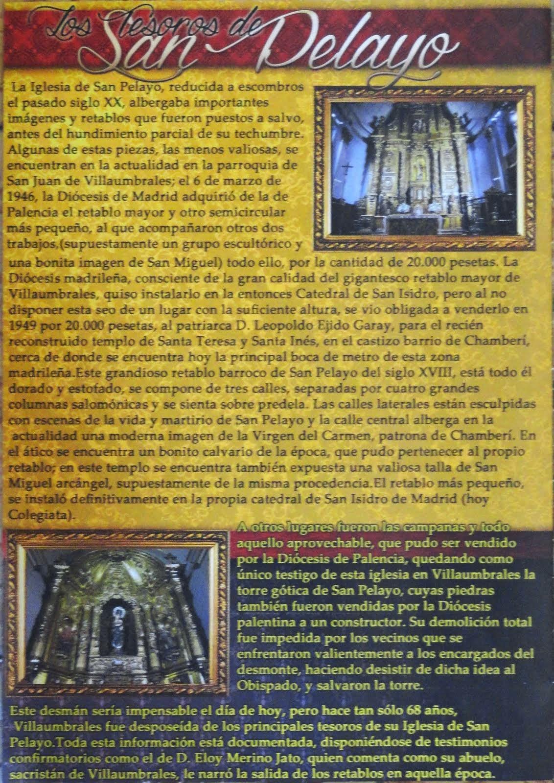Los tesoros de la iglesia de San Pelayo