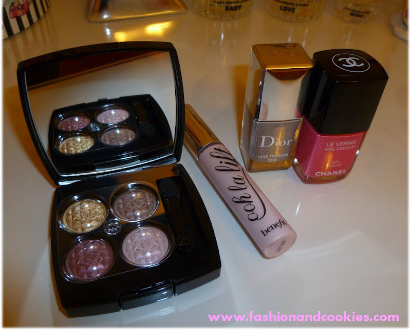 Chanel make up, Dior gris trianon, Fashion and Cookies